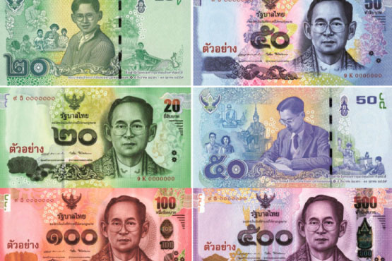 Thailand confirmed the issuance of new bank notes