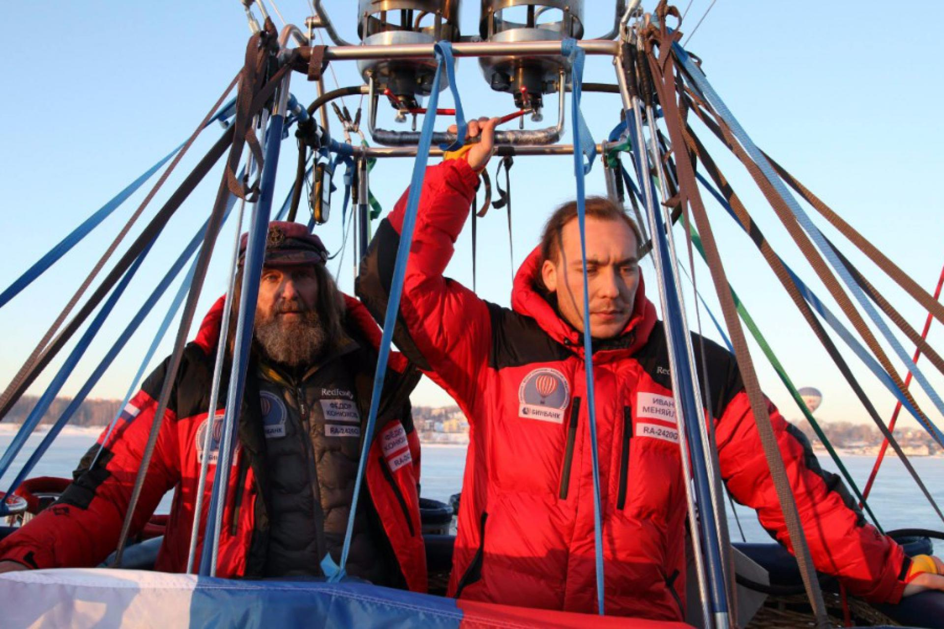 Fedor Konyukhov intends to break a world record of the altitude on the balloon