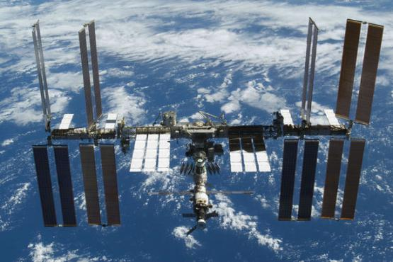 In Kazan passed a lesson of geography from the international space station.