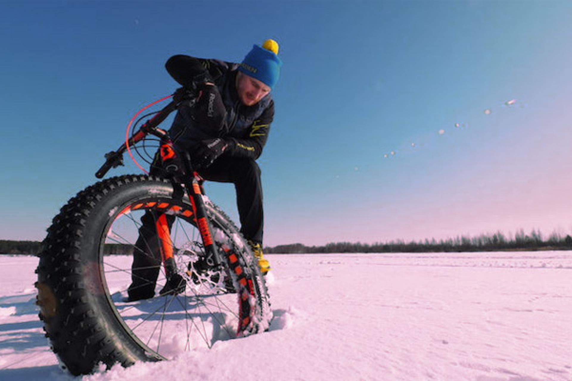 Resident of Yaroslavl was the first one in the world, who reached the Northern Pole by bicycle.