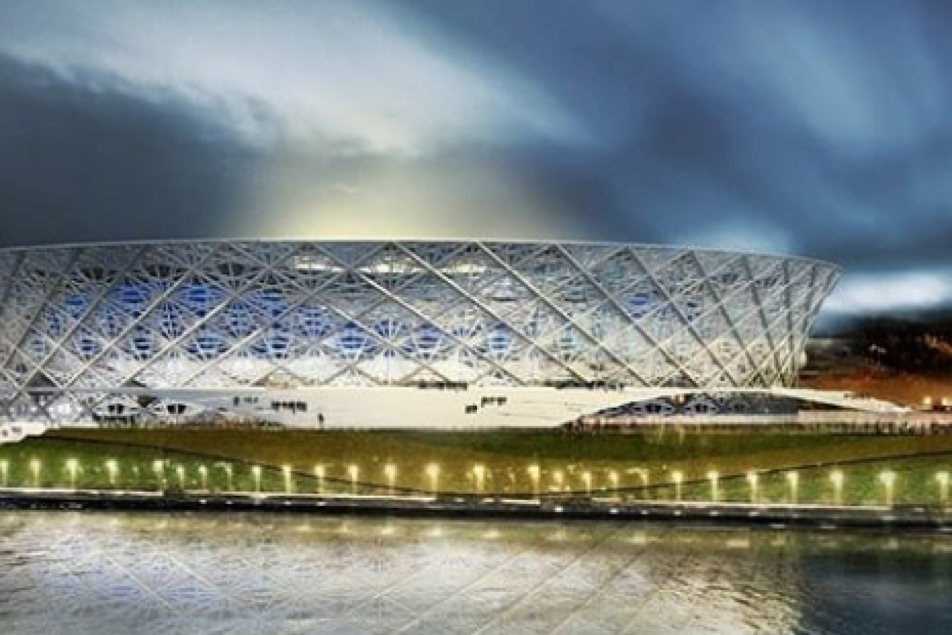 Stadiums of the World Cup 2018