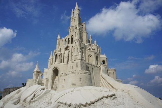 A festival of sand sculptures is planned in St. Petersburg