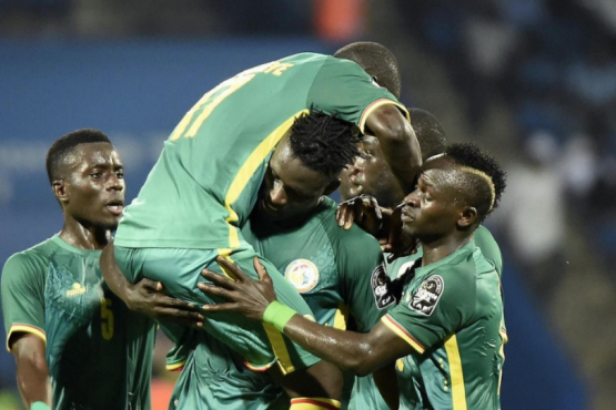Team Senegal in Moscow sensationally defeated the national team of Poland 2: 1
