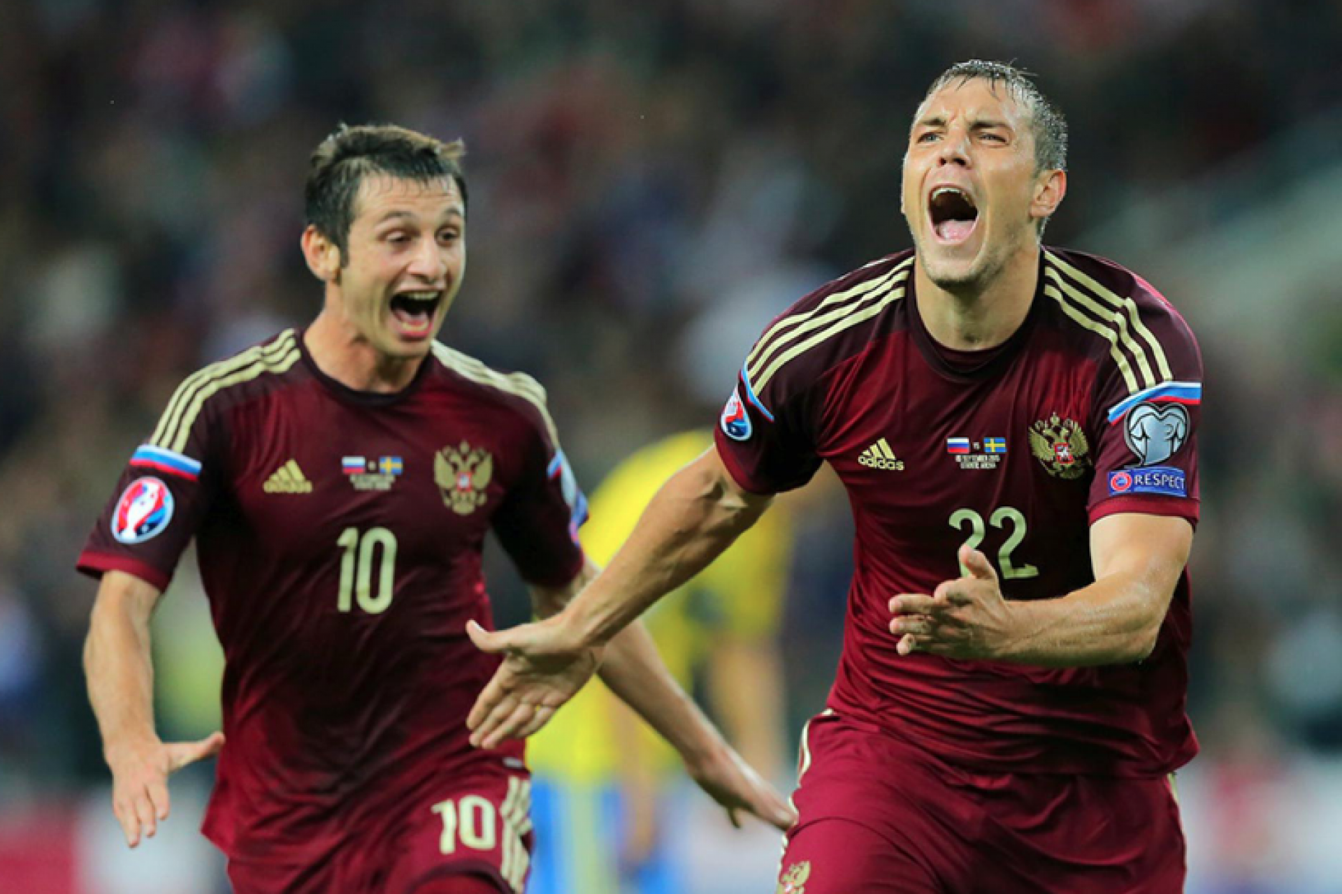 The Russian national team won a historic victory over the Egyptian national team in St. Petersburg 3 - 1