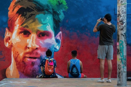 In Kazan, Messi expects a six-meter portrait