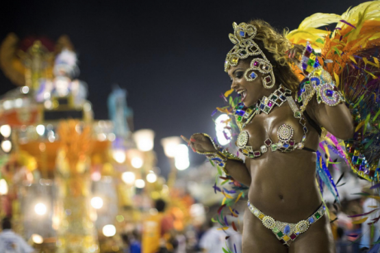 On the eve of the match Brazil - Mexico in Samara will host a carnival