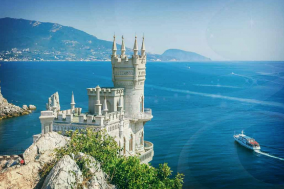 Ukraine warned Western guests of the Crimea