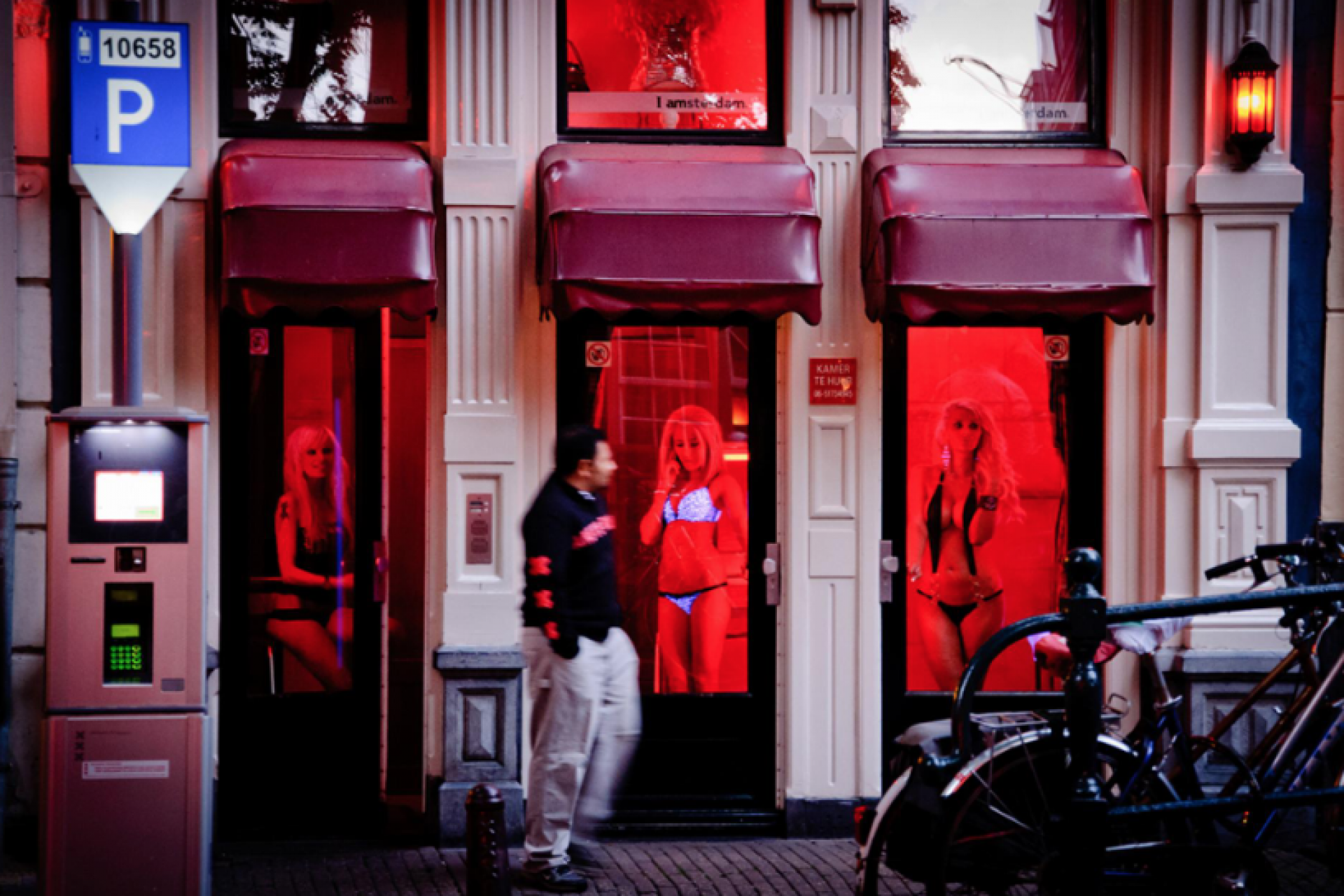 Amsterdam authorities have announced the dissolution of the red light district