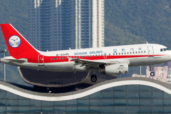 Sichuan Airlines launches flight from Shanxi to St. Petersburg