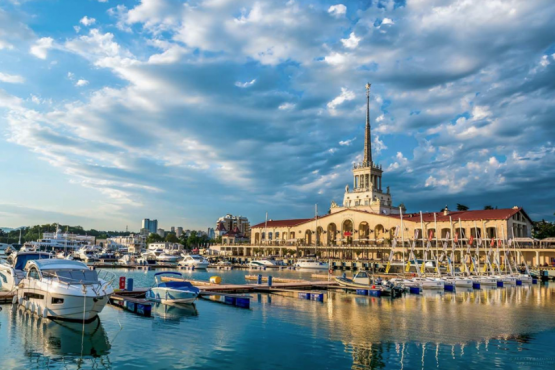 Sochi has become the most popular holiday resort for the November holidays.