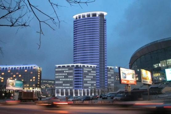 "The panoramic hotel ""Radisson Blu Olimpiysky"" received its first guests"