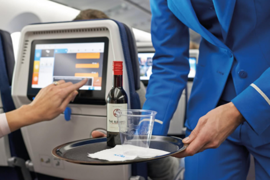 More than half of air passengers consume alcohol
