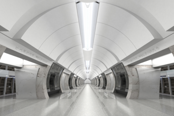 A new metro station has opened in Moscow