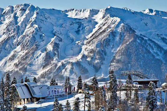 Krasnaya Polyana remains the favorite ski resort of Russians in February