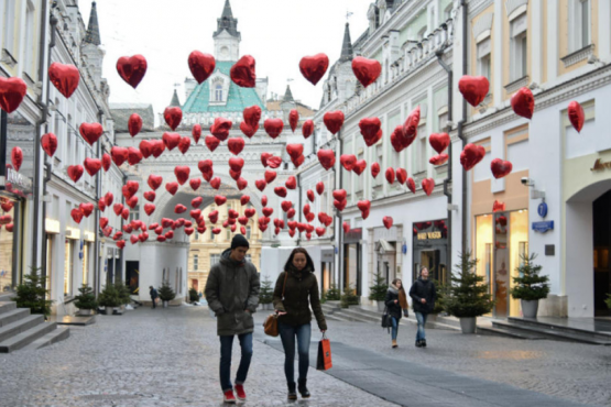 Experts told about the choice of travel Russian couples on Valentine's Day