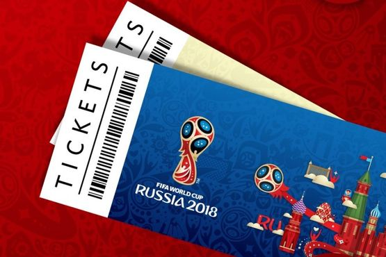 For the 2018 World Cup matches, 2 million tickets have been submitted
