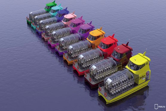 River cab will run along the Moscow River